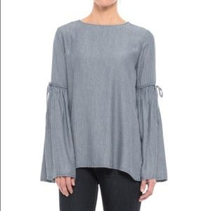 Beachlunchlounge | Harlow Bell Sleeve Striped Top